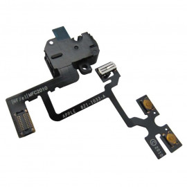 Buy Now Audio Jack Flex Cable For Apple iPhone 4, 4G With Power Switch and Volume Button Black