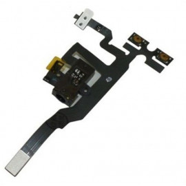 Buy Now Audio Jack Flex Cable For Apple iPhone 4S With Power Button Black
