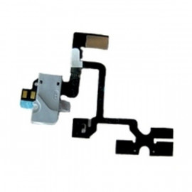 Buy Now Audio Jack Flex Cable For Apple iPhone 4 - White