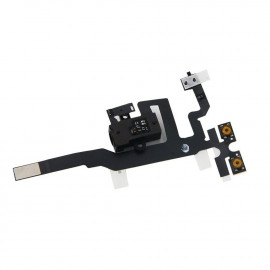 Buy Now Audio Jack Flex Cable For Apple iPhone 4S Black