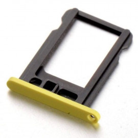 Buy Now SIM Card Holder Tray for Apple iPhone 5c - Yellow