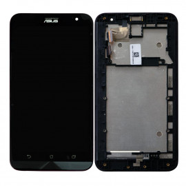 Asus Zenfone 2 Laser Display Z00LD and Touch Screen Glass With Frame - Black