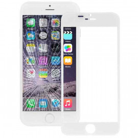 Buy Now Front Glass for Apple iPhone 6 Plus - White