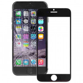 Buy Now Front Glass for Apple iPhone 6 Plus - Black