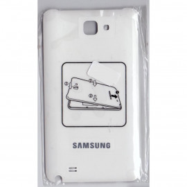 Buy Now Back Cover For Samsung Galaxy Note N7000 - Silver